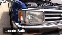1996 Toyota T100 SR5 3.4L V6 Extended Cab Pickup Luces