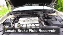 1997 Cadillac DeVille 4.6L V8 Sedan Brake Fluid