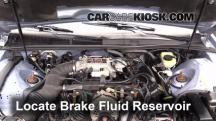 1997 Ford Thunderbird LX 4.6L V8 Brake Fluid