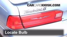 1997 Ford Thunderbird LX 4.6L V8 Lights