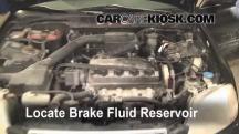 1997 Honda Civic LX 1.6L 4 Cyl. Brake Fluid