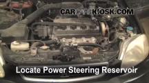 1997 Honda Civic LX 1.6L 4 Cyl. Líquido de dirección asistida