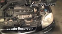 1997 Honda Civic LX 1.6L 4 Cyl. Windshield Washer Fluid