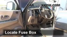 1997 Mitsubishi Montero Sport XLS 3.0L V6 Fuse (Interior)