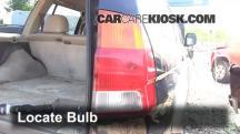 1997 Mitsubishi Montero Sport XLS 3.0L V6 Lights
