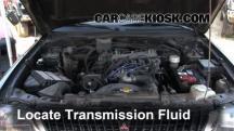 1997 Mitsubishi Montero Sport XLS 3.0L V6 Líquido de transmisión