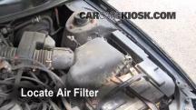 1997 Toyota Camry XLE 3.0L V6 Filtro de aire (motor)