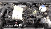 1997 Volkswagen Golf GTI 2.0L 4 Cyl. Air Filter (Engine)