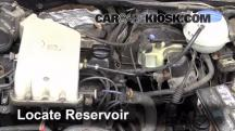 1997 Volkswagen Golf GTI 2.0L 4 Cyl. Windshield Washer Fluid