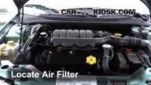 1998 Chrysler Cirrus LXi 2.5L V6 Air Filter (Engine)