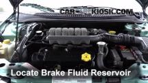 1998 Chrysler Cirrus LXi 2.5L V6 Brake Fluid