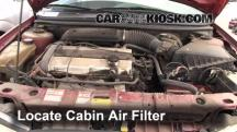 1998 Ford Contour LX 2.0L 4 Cyl. Air Filter (Cabin)