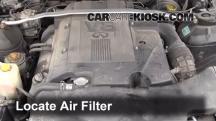 1998 Infiniti Q45 4.1L V8 Filtro de aire (motor)