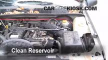 1998 Jeep Grand Cherokee TSi 4.0L 6 Cyl. Brake Fluid