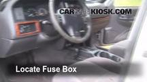 1998 Jeep Grand Cherokee TSi 4.0L 6 Cyl. Fuse (Interior)