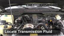 1998 Land Rover Discovery LSE 4.0L V8 Líquido de transmisión