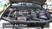 1998 Mazda 626 LX 2.0L 4 Cyl. Filtro de aire (motor)