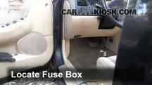 1998 Mazda 626 LX 2.0L 4 Cyl. Fusible (interior)