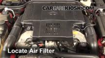 1998 Mercedes-Benz SL500 5.0L V8 Air Filter (Engine)