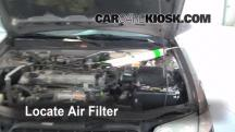 1998 Nissan Altima GXE 2.4L 4 Cyl. Air Filter (Engine)