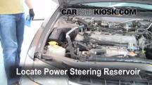 1998 Nissan Altima GXE 2.4L 4 Cyl. Power Steering Fluid