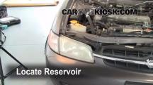 1998 Nissan Altima GXE 2.4L 4 Cyl. Windshield Washer Fluid