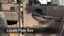 1998 Pontiac Trans Sport Montana 3.4L V6 (4 Door) Fusible (interior)