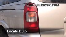 1998 Pontiac Trans Sport Montana 3.4L V6 (4 Door) Luces