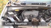 1998 Pontiac Trans Sport Montana 3.4L V6 (4 Door) Líquido limpiaparabrisas