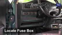 1998 SEAT Toledo TDI SE 1.9L 4 Cyl. Turbo Diesel Fusible (interior)