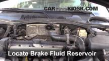 1998 Volvo V70 AWD 2.4L 5 Cyl. Turbo Brake Fluid
