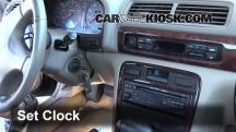 1999 Acura CL Premium 3.0L V6 Clock