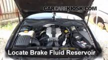 1999 Cadillac Catera 3.0L V6 Brake Fluid