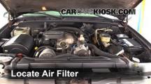 1999 Chevrolet K3500 LS 7.4L V8 Crew Cab Pickup (4 Door) Air Filter (Engine)