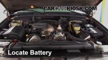 1999 Chevrolet K3500 LS 7.4L V8 Crew Cab Pickup (4 Door) Battery