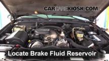 1999 Chevrolet K3500 LS 7.4L V8 Crew Cab Pickup (4 Door) Brake Fluid