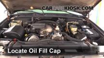 1999 Chevrolet K3500 LS 7.4L V8 Crew Cab Pickup (4 Door) Oil