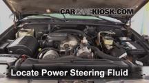 1999 Chevrolet K3500 LS 7.4L V8 Crew Cab Pickup (4 Door) Power Steering Fluid