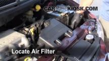 1999 Dodge Caravan 3.0L V6 Filtro de aire (motor)