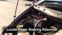 how to change power stearing fluid on a 2010 caravan
