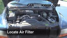 1999 Dodge Durango SLT 5.9L V8 Filtro de aire (motor)