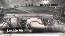 1999 Ford F-150 XLT 4.6L V8 Extended Cab Pickup (4 Door) Filtro de aire (motor)