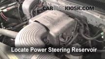 1999 Ford F-150 XLT 4.6L V8 Extended Cab Pickup (4 Door) Power Steering Fluid