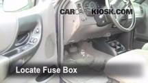 1999 Ford Ranger XLT 4.0L V6 Extended Cab Pickup (4 Door) Fusible (interior)