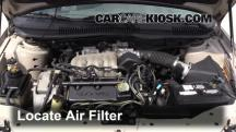 1999 Ford Taurus LX 3.0L V6 Air Filter (Engine)