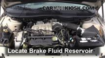1999 Ford Taurus LX 3.0L V6 Brake Fluid
