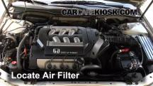 1999 Honda Accord LX 3.0L V6 Sedan (4 Door) Air Filter (Engine)