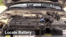 1999 Hyundai Elantra GL 2.0L 4 Cyl. Sedan (4 Door) Battery