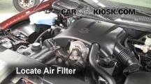 1999 Lincoln Town Car Signature 4.6L V8 Filtro de aire (motor)