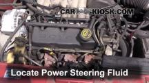 1999 Mercury Sable LS 3.0L V6 Sedan Power Steering Fluid